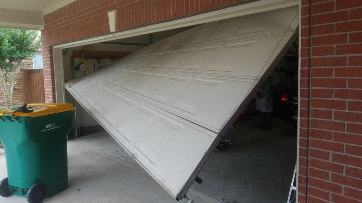 How to Check a Garage Door after a Storm