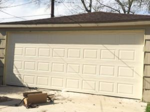 2 garage doors to 1 conversion-after