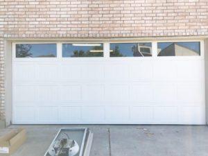 garage door with wondows houston tx