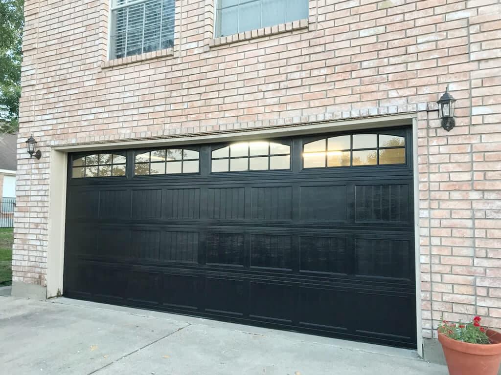 garage door painting houston