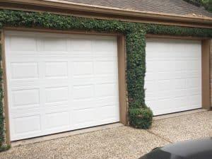 standard garage door