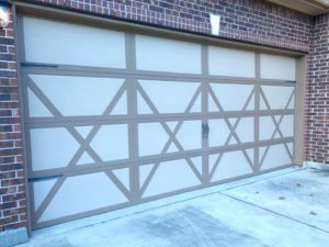 carrige style garage door