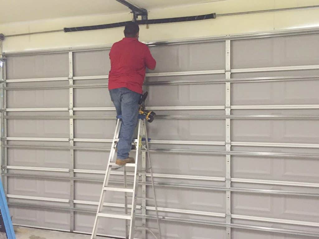 garage door spring repair houston