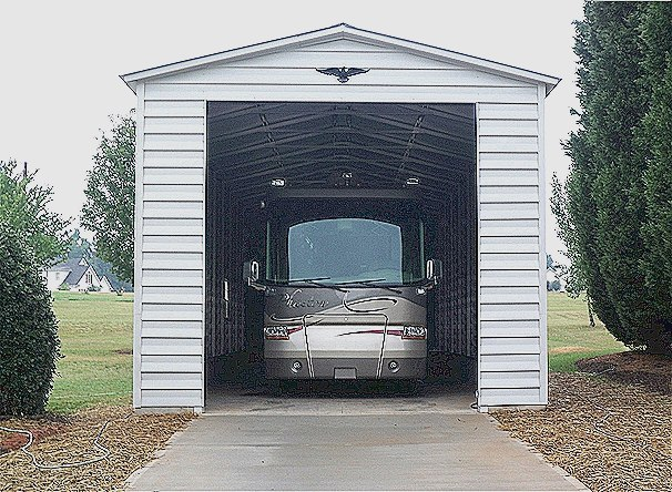 Steel RV Garage