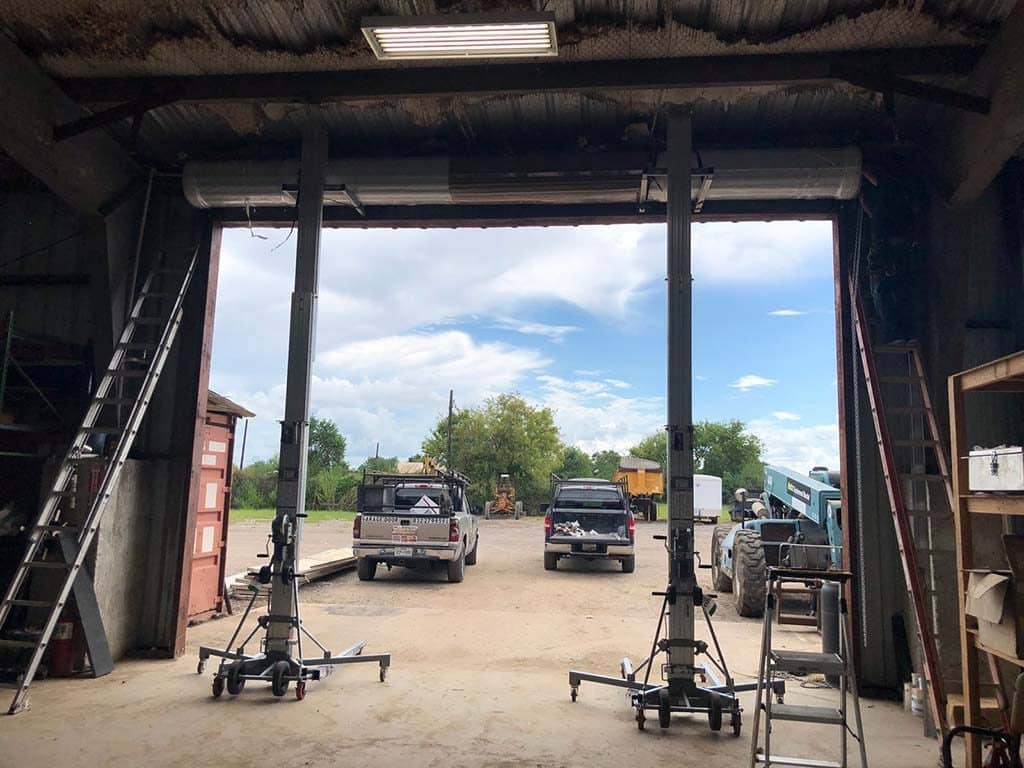 commercial garage door installation (2)
