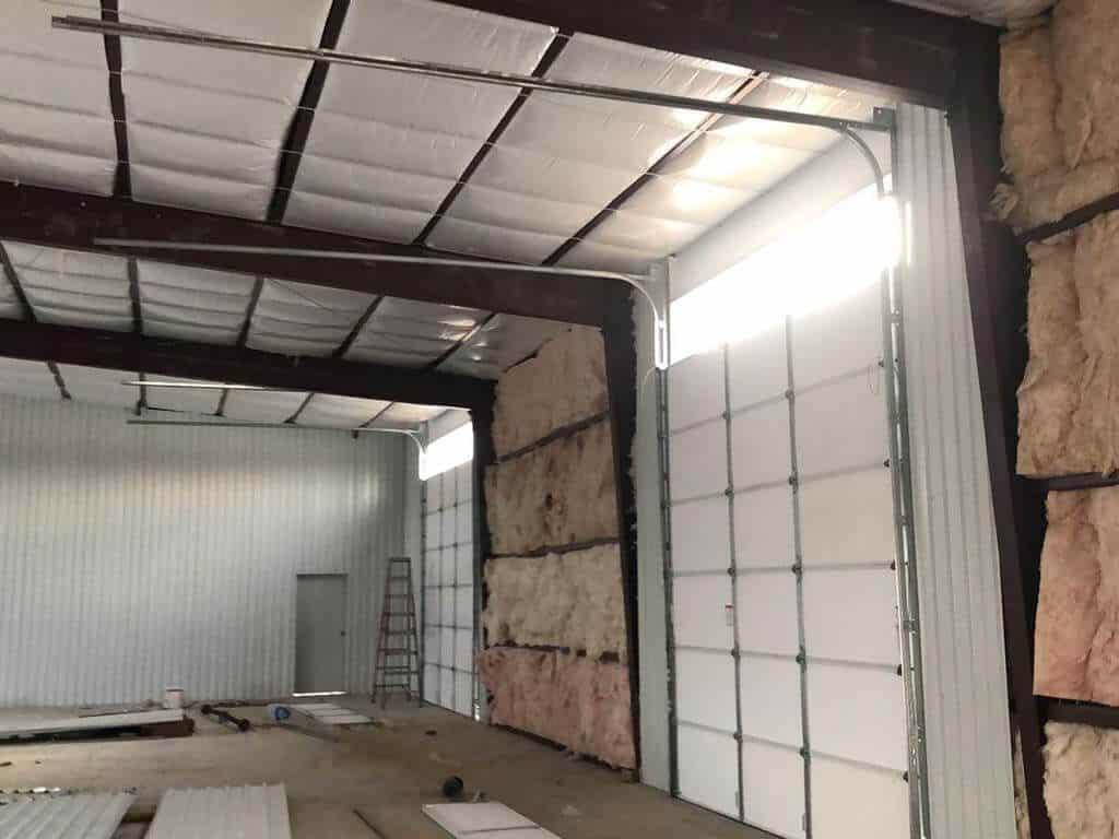commercial overhead garage door installation in Housont