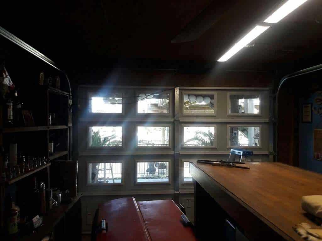 glass garage doors Houston