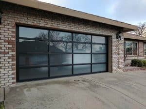 glass garage doors for houses Houston
