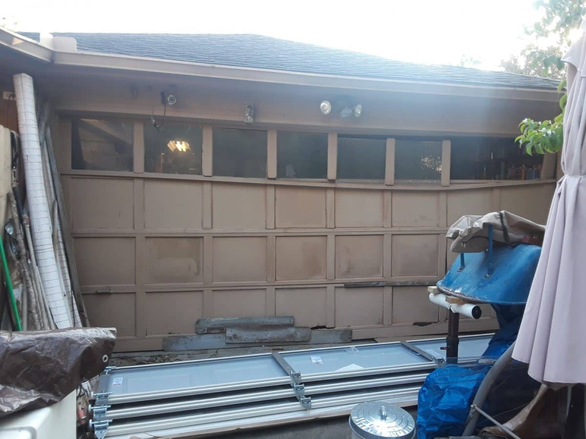 Garage Door Replacement vs Makeover